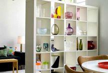 Book shelf partition