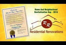 Residential Renovations Receives City Proclamation