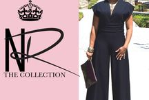 """Kierra Ramel Jumpsuit Pattern from the """"Nina Ramel Collection"""" / First jumpsuit of the Nina Ramel Collection with Bootstrap Fashion"""