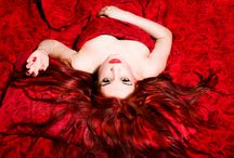 Smothered in red