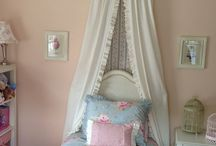 """Lissy Girl / I'm planning to make over my great-niece's bedroom for her 8th birthday.  Her name is Alyssa but I call her Lissy.  She is my """"Lissy girl"""" and she is a girly-girl.  Shabby chic?  Eclectic? Re-purposed?  Her favorite color is light blue.  So many options. / by Raindrops and Roses"""