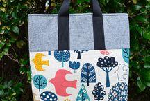 DIY_bag / cara membuat tas, dilengkapi dengan pola dan langkah-langkah pembuatannya