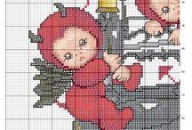 Cross stitch Little Devil