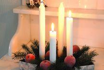 velas navidenas