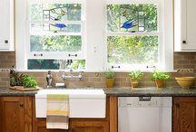 Okno v kuchyni