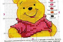 Winnie The Pooh Punto Croce