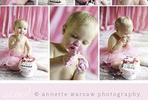 {1st} Cake Smash / © annette warsaw photography