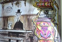 Ronald Searle Drawings