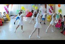 tanec detí