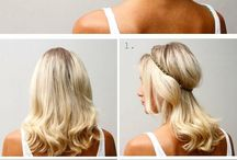 Hair Styles_Easy_Peinados / Inspiration