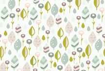 Patterns by Hikje / Pattern design by Hikje