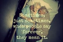 "everlasting love / sometimes when people say ""forever"" they really mean it"