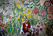 Tércio da Gama mestre das cores do Brasil - SC / Um dos maiores artistas plásticos do Brasil.  http://www.terciodagama.com.br/