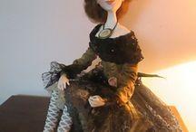 Naše panenky (art dolls)  www.rozmarnosti.cz