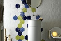 hexatile bathroom