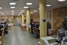 Galería fotográfica de la Biblioteca / Biblioteca de la Facultad de Ciencias Geológicas de la Universidad Complutense de Madrid