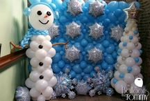 Holiday Balloon Decor / Holiday Balloon Decor perfect for any gathering!  Want more? Visit www.balloonsbytommy.com