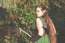 Costumes d'Alice en Crinoline