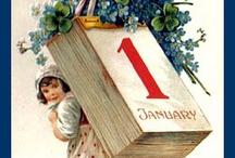 Nowy Rok - ilustracje