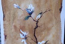 Acrylic painting / Chinese style