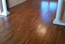 Hardwood Floor Stains / We ripped out the carpeting and are now trying to decide which product and stain to use.