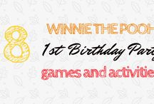 Winnie the Pooh First Birthday Party Ideas