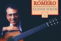 CD and LP covers Pepe Romero / classical guitar music on CD and on vinyl