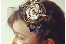 Steampunk clothing jewelry headbands and shoes