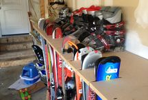 Garasje organisering