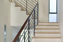House hand railings