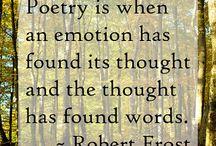 Poetry  / by Kara Oberst