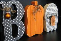Holiday - Halloween & Fall Crafts and Decor / DIY Halloween/Fall Crafts and Decor