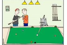 Billiard Cartoons / Cartoons about playing pool