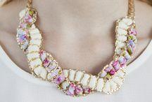 Bijouterie / Costume jewelery handmade,  handmade jewelery