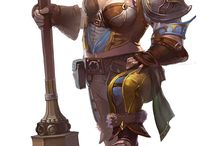 Art | Female dwarf