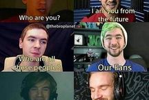 Jack, mark, pewdiepie