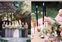 Dusty Lavender & Navy Wedding