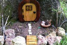 Zahradní domečky pro skřítky