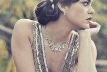 Vintage hair-20's, great gatsby