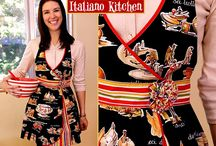 Sewing -- Aprons & Potholders