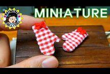 Accessories, kitchen miniatures