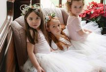 Mimosa - Bridesmaids and flowergirls / Bridesmaid and flowergirls styling, hair accessories, flower crowns, dresses and tutus.