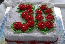 decoraçao em bolos