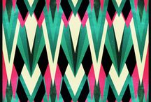Pattern love / Inspiration for fabrics, paintings, or simply eye candy