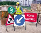 Roadworks / In some situations, roadworks and signage are needed to protect you, and the people around you. For those situations where you need roadworks equipment, HSS Hire have got what you need.   #toolhire #equipmenthire #hss #hsshire #roadworks