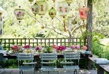 Garden, balcony & flower