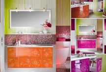 Bathroom Design Ideas / Search Through Bathroom Photos and Discover Vanities, Bathroom Sinks, Bathtubs, Toilets and Showers for Your Bath Remodel.