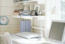 Home Office Ideas / Home office designs, set-up, ideas, organization.