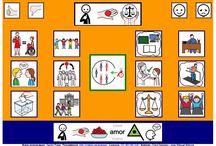TABLEROS DE COMUNICACIÓN / Sistemas aumentativos y alternativos de comunicación.