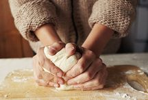 Bread/ dough/ Working with your hands